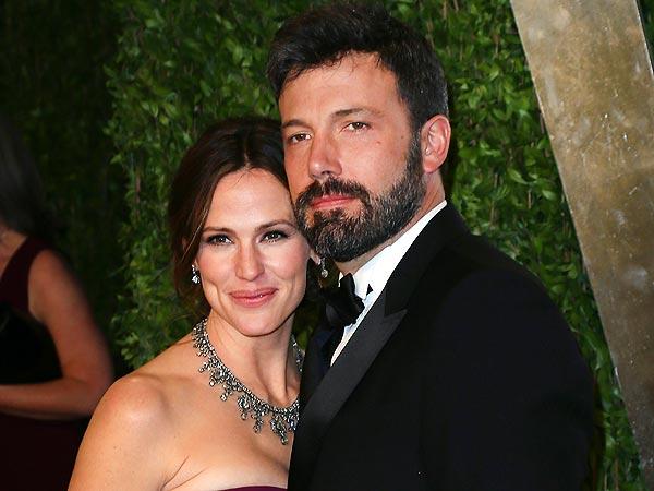 Ben Affleck, Jennifer Garner at Vanity Fair Party After Oscars 2013 Win