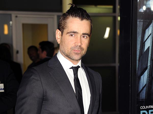 Colin Farrell Celebrates His New Film with Diet Soda