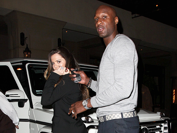 Khloe Kardashian & Lamar Odom&#39;s &#39;Lovey Dovey&#39; Dinner