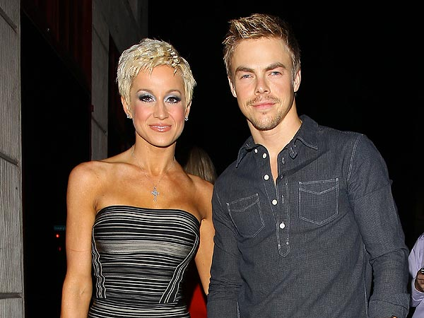 Kellie Pickler & Derek Hough Jam at Mark Ballas's Late-Night Concert