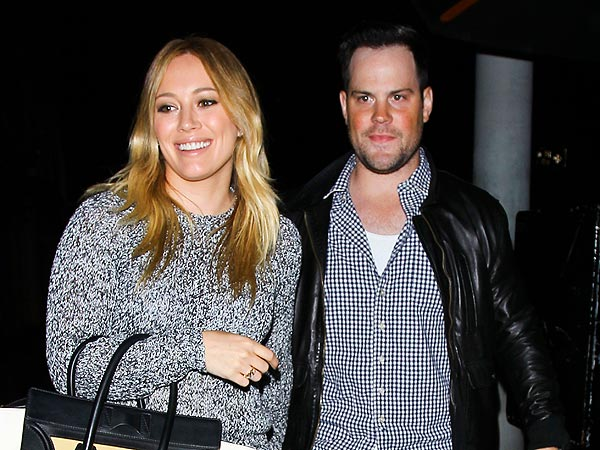 Hilary Duff & Mike Comrie's Ringside Date Night in Las Vegas