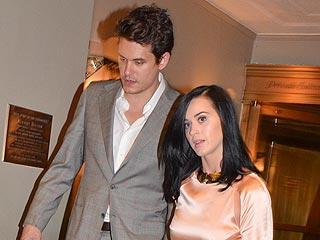 Katy Perry Kisses John Mayer at Friars Club Roast in N.Y.C.   John Mayer, Katy Perry
