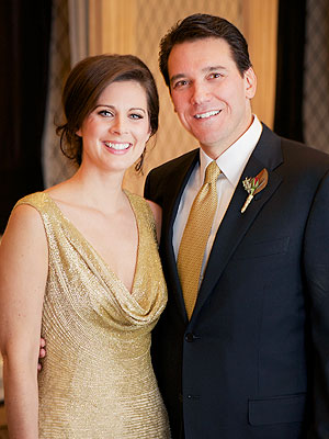 Erin Burnett, David Rubulotta Wed in New York