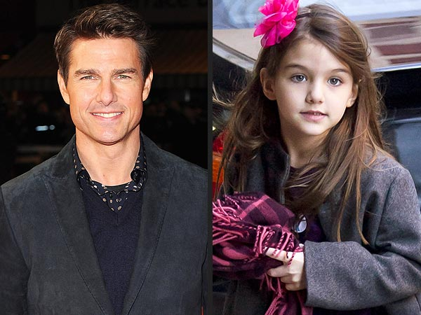 Tom Cruise, Suri Spend Family Time in London