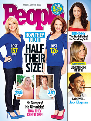 PEOPLE&#39;s Half Their Size Cover Girls