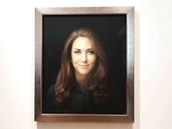 Kate&#39;s Official Portrait Unveiled