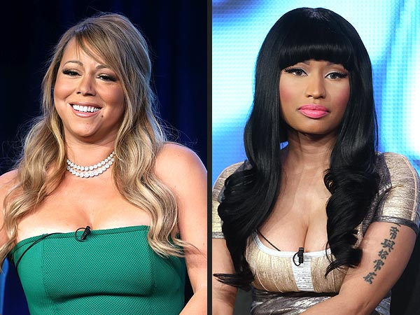 Mariah Carey & Nicki Minaj Talk American Idol Feud