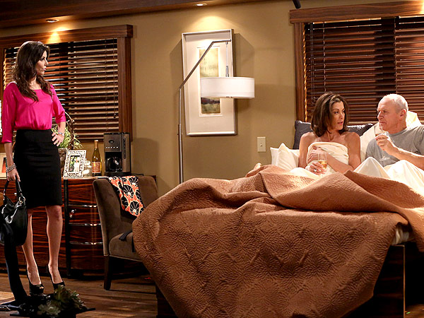 Heather Dubrow Guest Stars on Hot in Cleveland