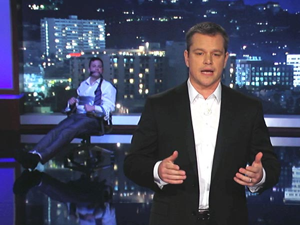 Matt Damon: Jimmy Kimmel Live Is His