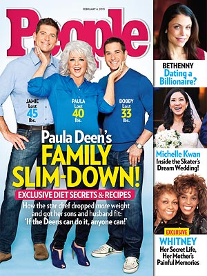 How Paula Deen and Her Family Lost 178 Lbs. Together