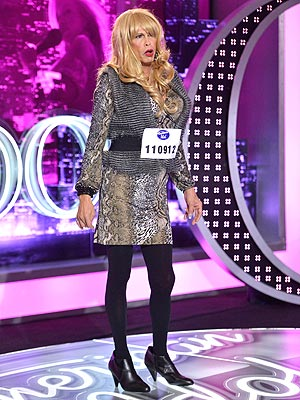 Steven Tyler Auditions in Drag for American Id