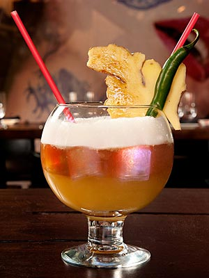 New York Fashion Week Cocktail Recipes - The Devil Wears Papaya