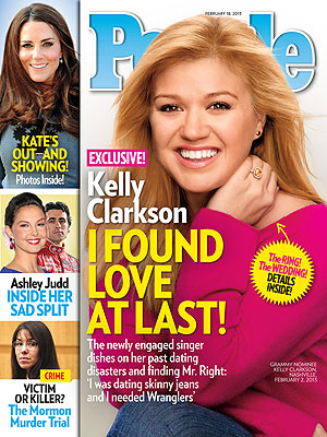Kelly Clarkson Talks Dream Wedding in PEOPLE Magazine