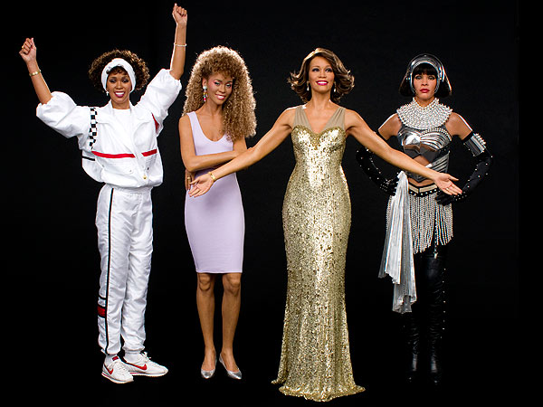 Whitney Houston Wax Figures at Madame Tussauds
