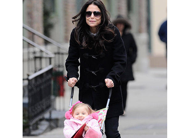 Bethenny Frankel & Daughter's Happy Playtime in Beverly Hills