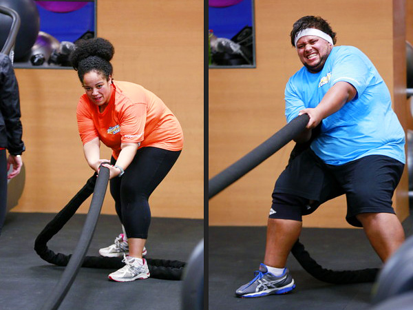 Francina Morillo of Biggest Loser: Jeff Nichols and I Are in Love