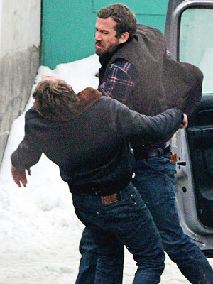 Ryan Reynolds Punches Costar Scott Speedman on Set of New Film