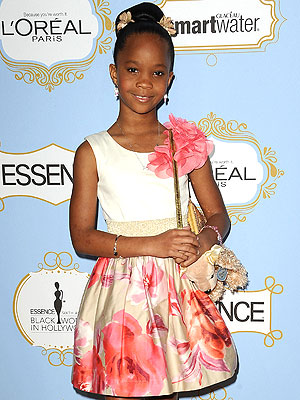 Oscars: Quvenzhane Wallis Thanks Her Babysitter at Essence Awards