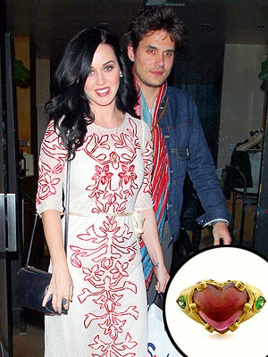 Katy Perry and John Mayer: Not Engaged