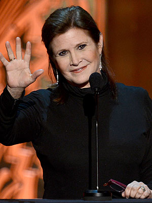 Carrie Fisher Hospitalized After Bizarre Behavior on Cruise Ship
