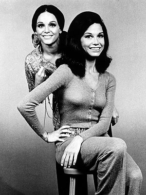 Mary Tyler Moore and rhoda