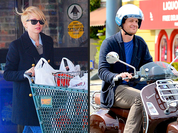 Michelle Williams, Jason Segel Breakup; Pictures of Separetely