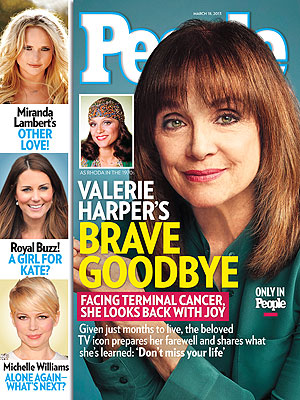 Valerie Harper Terminal Brain Cancer Diagnosis, Ready to Say Goodbye