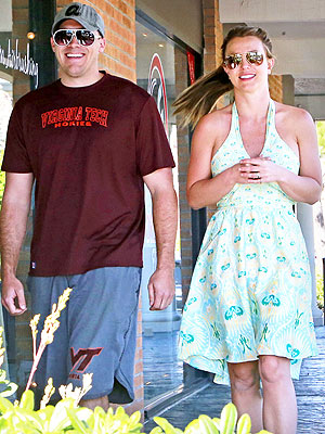 Britney Spears Steps Out with David Lucado -- again