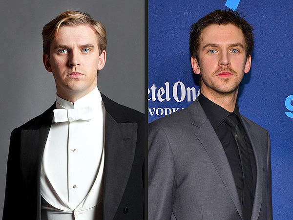 Dan Stevens of Downton Abbey Goes Brunette and Scruffy