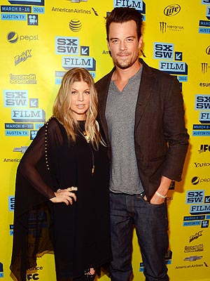 Fergie and Josh Duhamel Get a Taste of Texas at South By Southwest