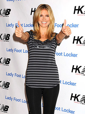 Heidi Klum Keeps Fit Keeping Up with the Kids