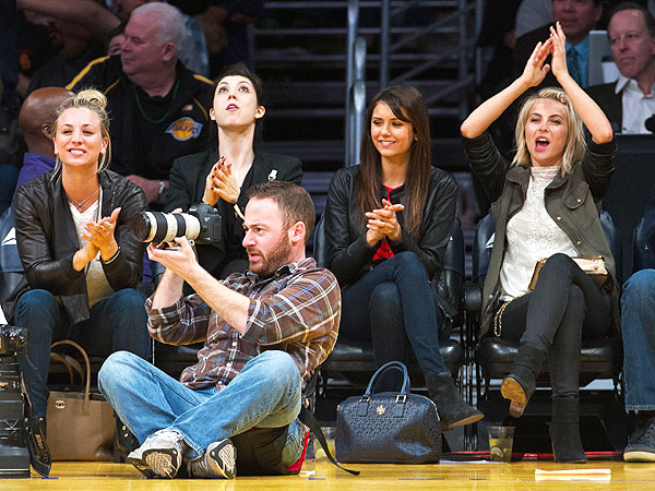 Julianne Hough Hits Lakers Game After Ryan Seacrest Split