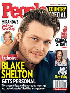Blake Shelton Dishes on Fame, Marriage and More