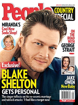Blake Shelton on Miranda Lambert and Music
