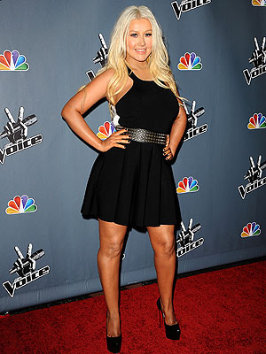 Christina Aguilera Shows Off Slimmed-Down Physique