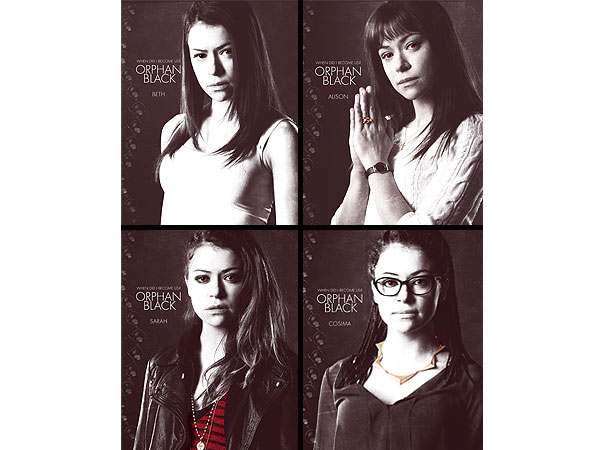 Meet the Clones on Orphan Black Before it Premieres