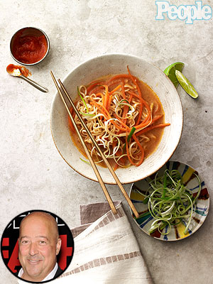 Andrew Zimmern's Ramen Noodles Recipe in People Magazine