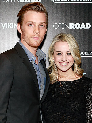 Jake Abel with beautiful, Wife Allie Wood