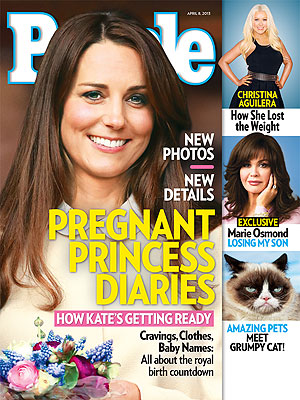 Kate Pregnant, Due in July - How She's Preparing PEOPLE Magazine Cover