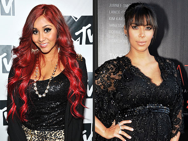 Kim Kardashian Pregnant; Snooki Gives Her Fashion Tips for Childbirth