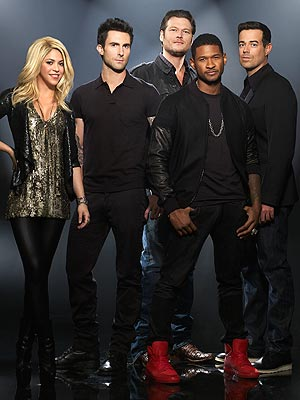 Shakira, Usher Debut on an Emotional Premiere of The Voice
