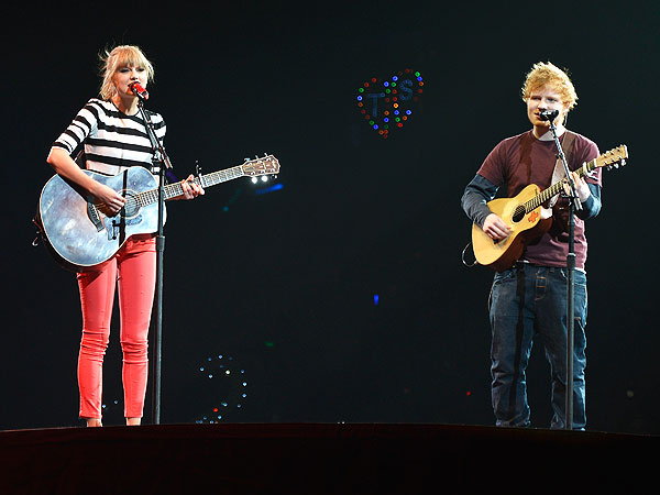 Ed Sheeran: Rumors He's Dating Taylor Swift Make Him 'Feel Like a Stud'