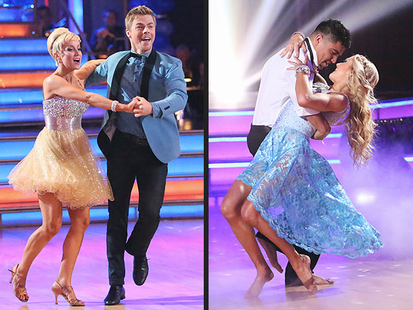 Dancing with the Stars: Kellie Pickler and Derek Hough Shine on Prom Night