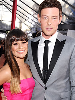 Lea Michele &#39;Calmed&#39; Cory Monteith: Source