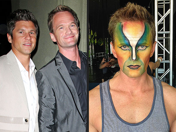 Neil Patrick Harris Enjoying 40th Birthday Scavenger Hunt