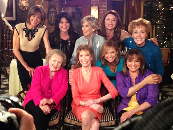 Valerie Harper, Betty White, Mary Tyler Moore Reunite