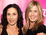 Mandy Ingber and Jennifer Aniston