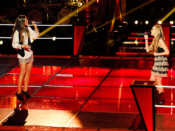 The Voice: Adam Levine, Usher, Shakira and Blake Shelton Fight For Singers