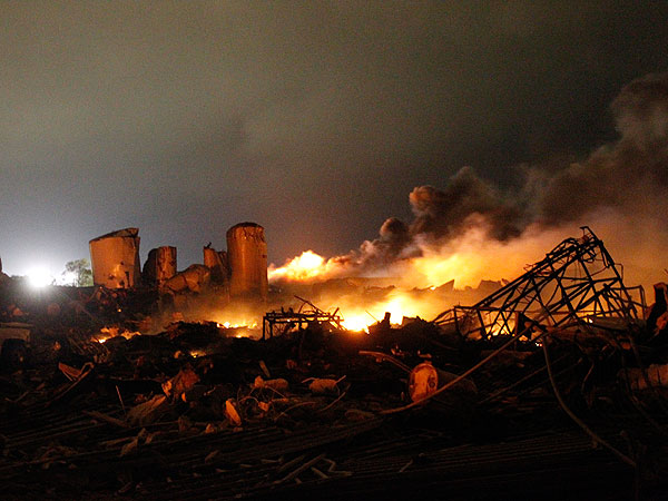 Waco Factory Explosion: Up to 15 Feared Dead