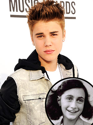 Justin Bieber on Anne Frank: Hopes 'Would Have Been a Belieber'